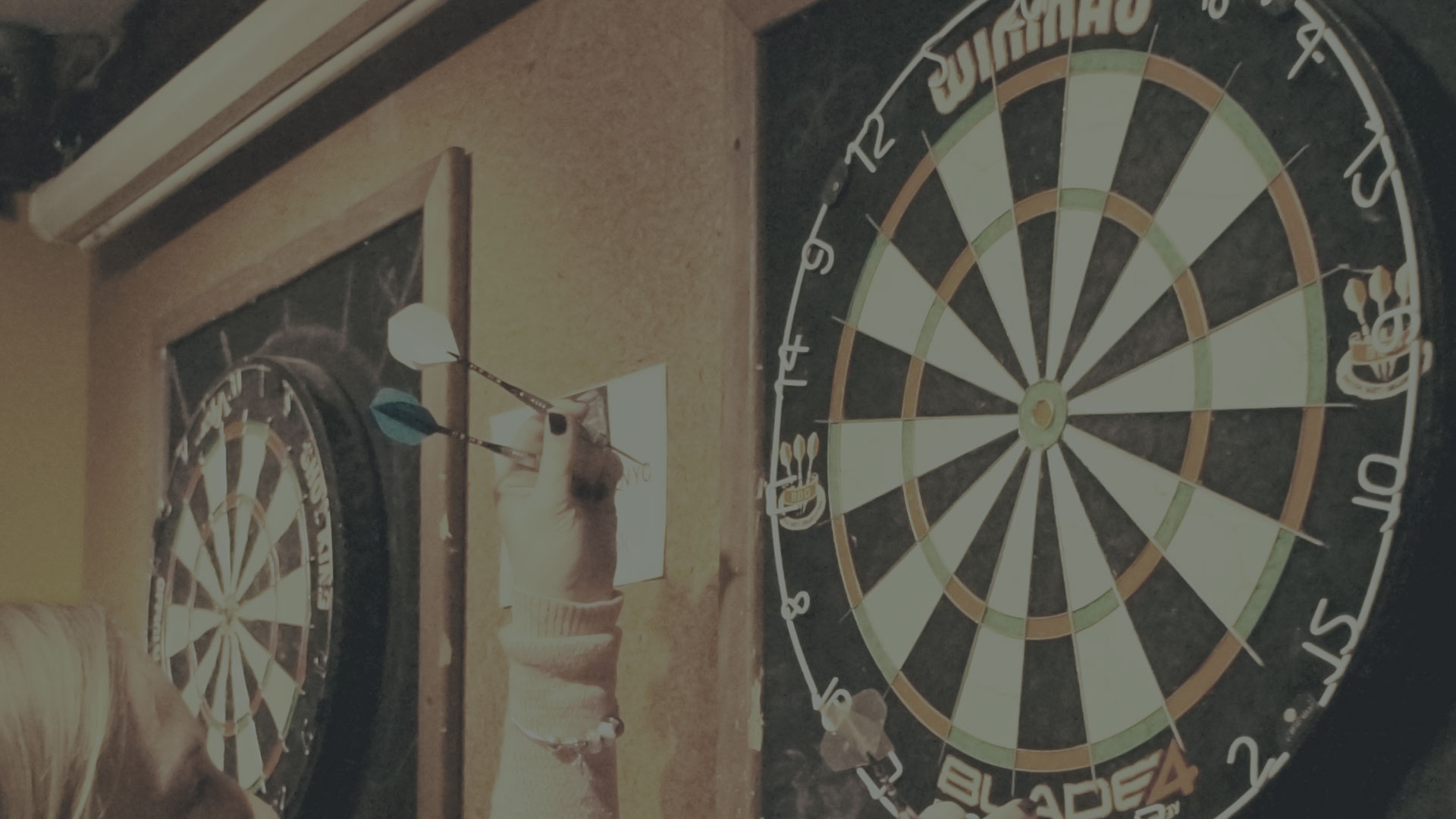 WINMAU BLADE DART BOARDS